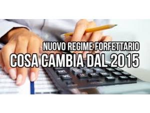 Nuovo regime forfettario 2015